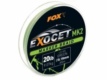 FOX EXOCET MARKER BRAID 20LB 300MT