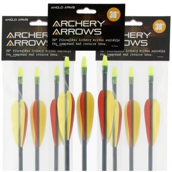 Fibreglass-Bow-Arrows-Freetime